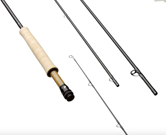 Sage fly fishing rod