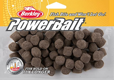 a bag of berkley powerbait trout nuggets