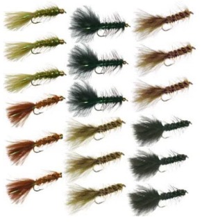 wooly bugger trout fly fishing lures